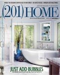 "Spring 2018 (201) HOME Magazine ""Just Add Bubbles"" Franklin Lakes Master Bathroom"